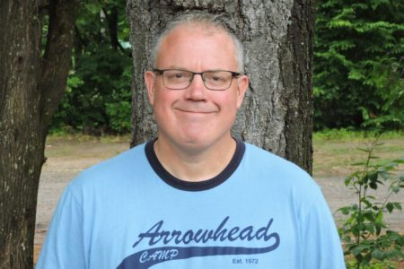 Arrowhead Camp co-director, Mike Hinchley